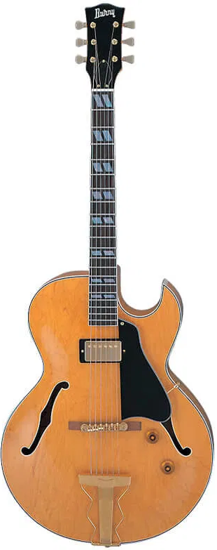 Burny RFA 75 Shortscale Jazz Guitar Natural