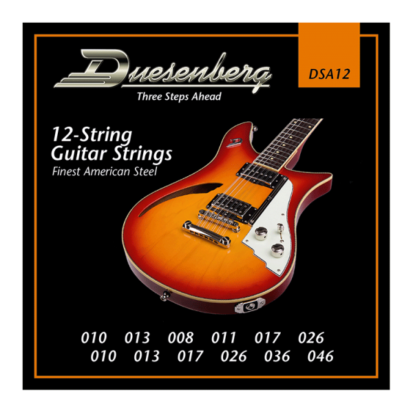 Duesenberg DSA12 Electric Guitar 12 String Set (10-46)
