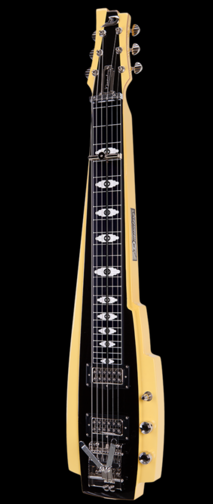 Duesenberg Lap Steel Pomona  - Blonde and Black
