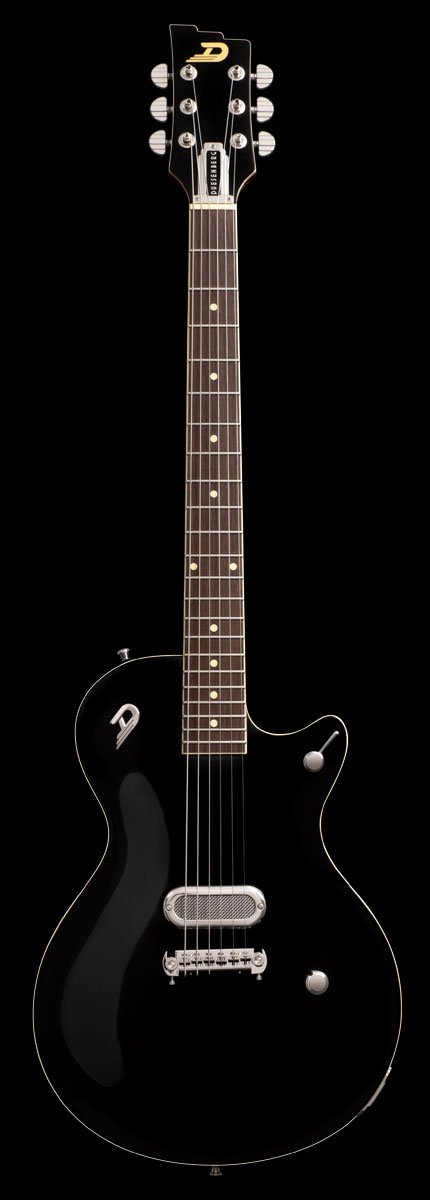 Duesenberg Senior in Black Electric guitar. Pre Order Now!