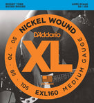 d`Addario EXL160 Long Scale Roundwound Bass Strings