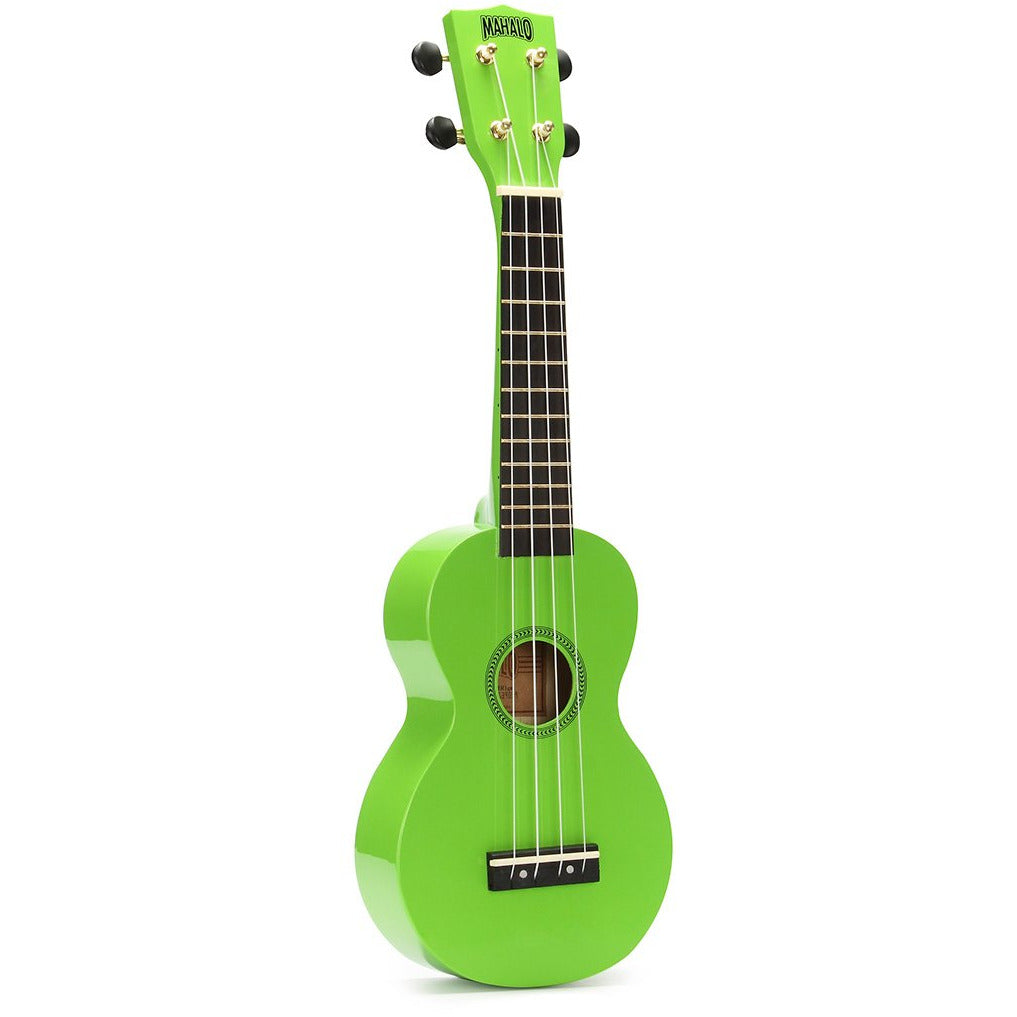 Mahalo Rainbow Series Soprano Ukulele w/bag and tuner and capo