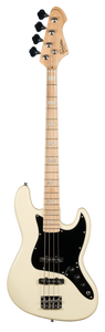 Revelation RBJ-67 Jazz Bass - Vintage White. Revelation Guitars North America