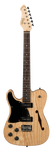 Revelation RFT left handed electric guitar , Natural finish
