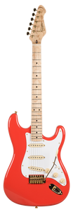Revelation RSS Fiesta Red Electric Guitar Flame maple neck