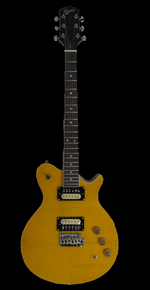 Revelation RGS-33 Blonde Flame Maple Electric Guitar