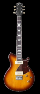 Revelation RGS-7 2 Tone Sunburst Electric Guitar