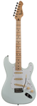 Revelation RST-57 Arctic White  / Maple board electric guitar