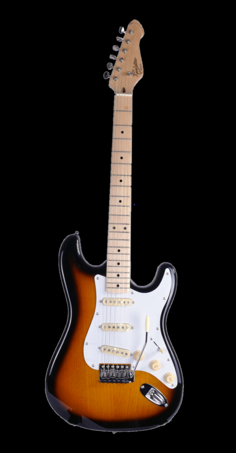 Revelation RST-57 Two Tone Sunburst Maple board Electric Guitar