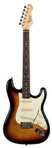 Revelation RTS-62 3 Tone Sunburst Electric Guitar