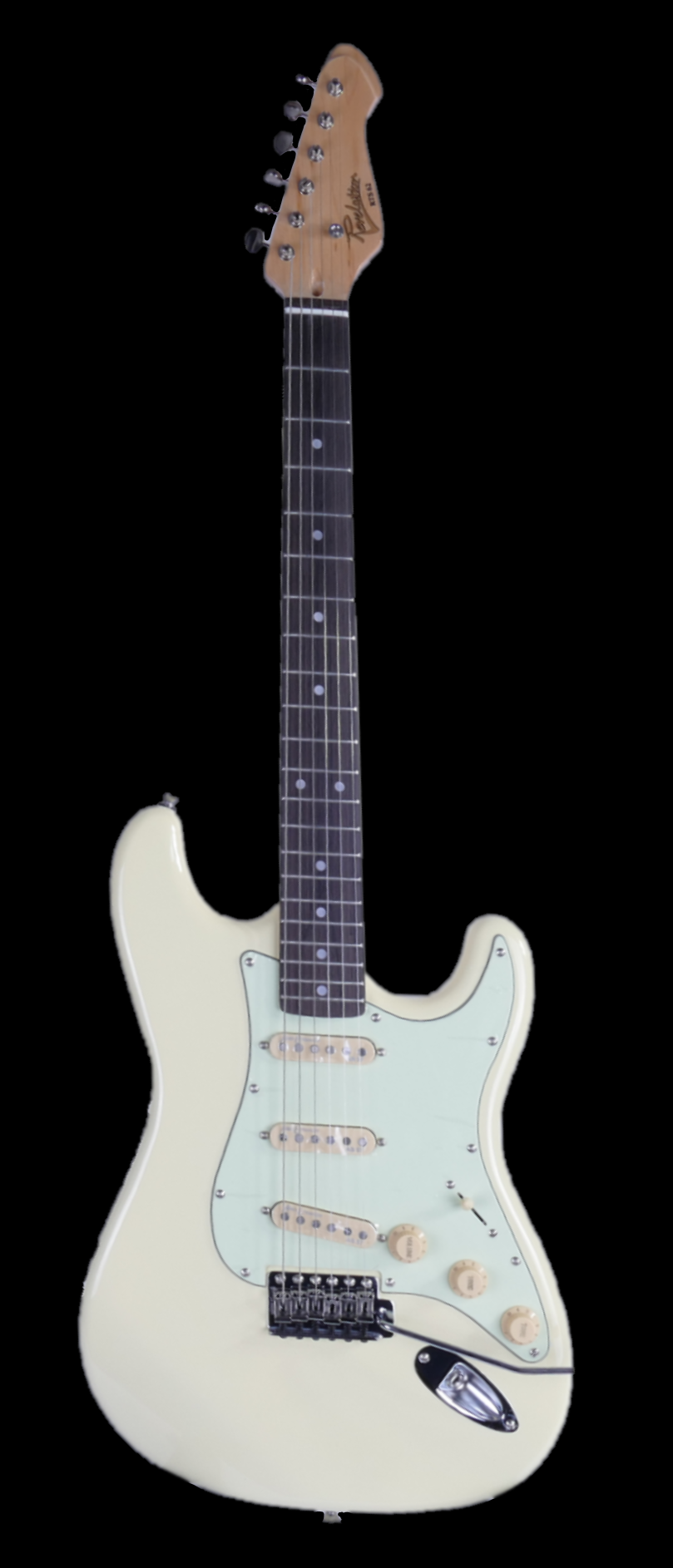 Revelation RTS-62 Electric Guitar in vintage white