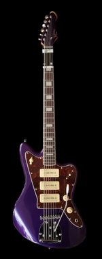 Revelation RVJTB Metallic Purple (Bass 6) Electric Guitar/Bass