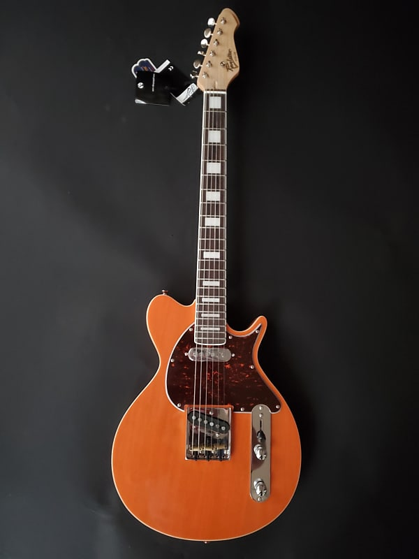 Revelation TTX-DB in Transparent Orange Electric Guitar