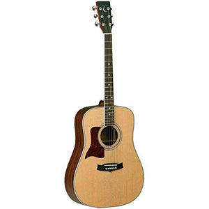 Tanglewood Sundance Dreadnought Solid Spruce Top Acoustic, Natural Satin Finish, Left Handed