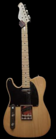 Revelation  RTE 54 LH - Natural Finish Electric guitar Left Handed