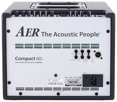 AER Compact 60/3 2-Channel Acoustic Combo