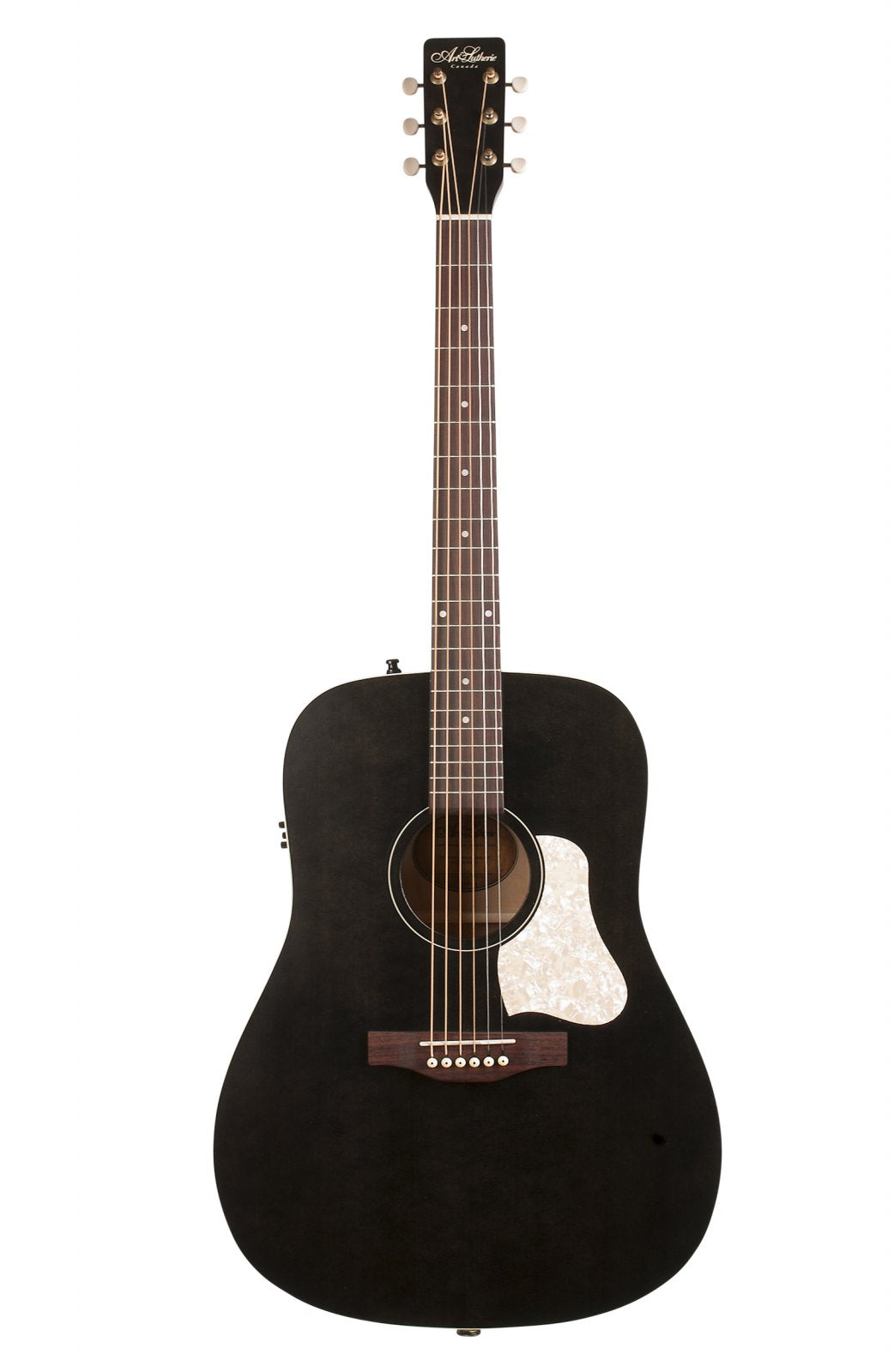 Art & Lutherie Americana Faded black QIT 042470 Electric Acoustic Guitar