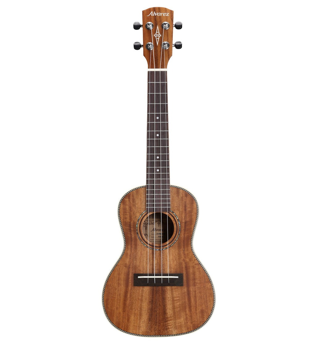 Alvarez AU90C Concert Ukulele in Natural Semi-Gloss