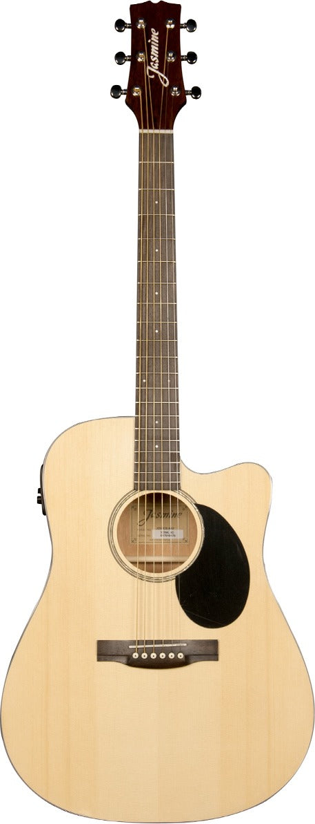 Jasmine JD39CE Acoustic Electric Guitar in Natural Finish