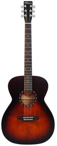 Norman B18CH A/E acoustic guitar with Fishman Pickup, Burnt Umber Finish