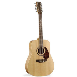 Norman Encore B20 Presys Electric Acoustic 12 String Guitar natural dark  finish