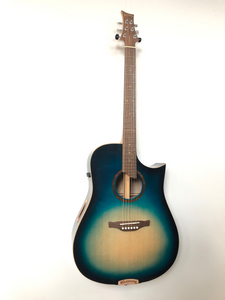 Riversong Blueberry Custom SE Performer G2 gloss Blueberry Burst Electric Acoustic Guitar