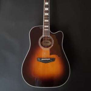 d'Angelico PREMIER BOWERY Acoustic Electric guitar DAPD500VSBCPS