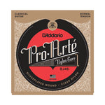 d`Addario EJ45 Pro Arte Normal Tension Silverplated Wound Clearn Nylon 28 through 43
