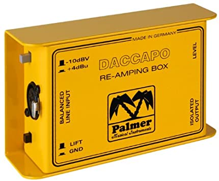 Palmer DACCAPO reamp box