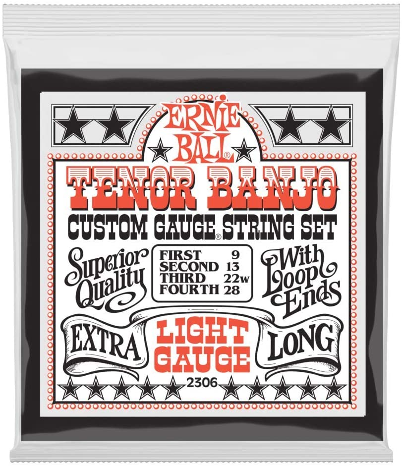 Ernie Ball EB 2306 tenor banjo loop end strings