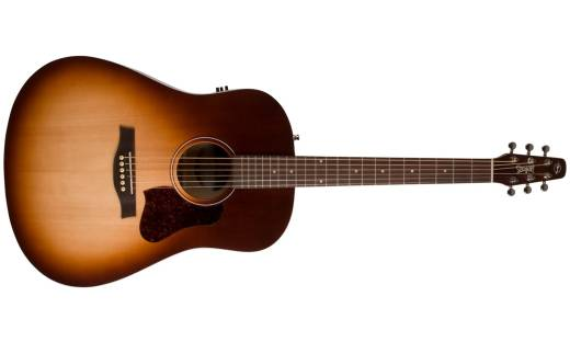 Seagull Entourage Autumn Burst Burst Qit Electric Acoustic Guitar