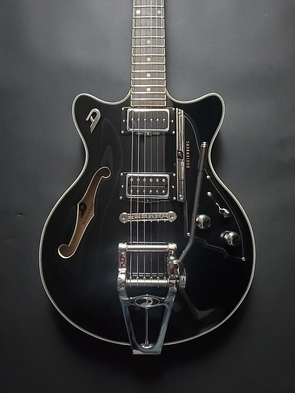 Duesenberg Fullerton TV Electric Guitar Black
