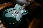 Duesenberg Gran Majesto Electric Guitar in Catalina Green