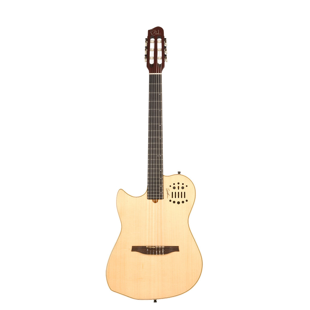 Godin Multiac Nylon Natural HG SA Left SF Left Handed Electric Acoustic Guitar
