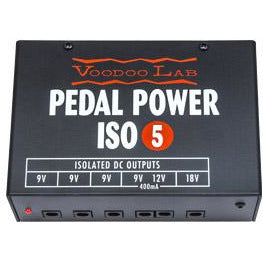 VooDoo Lab Pedal ISO 5 Isolated Power Supply