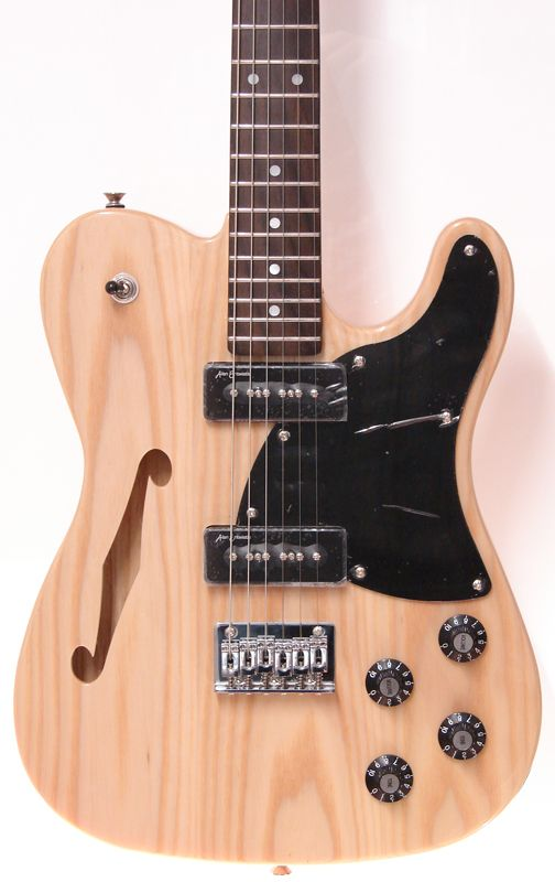 Revelation RFT - Natural Finished Electric Thinline Guitar