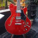 Revelation RT-45  Cherry Semi Hollow Electric Guitar