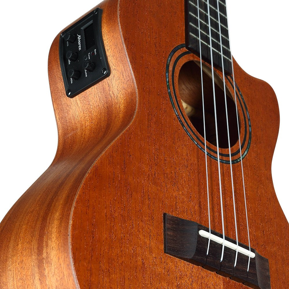 Alvarez RU22CCE Regent Concert Ukulele Acoustic Electric with EQ and Tuner