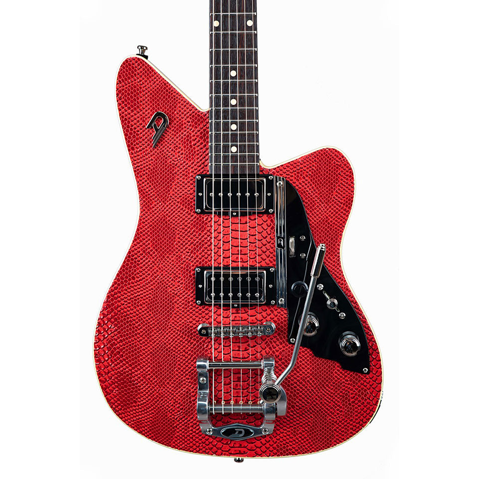 Duesenberg Alliance Sascha Paeth Electric Guitar in Snake red