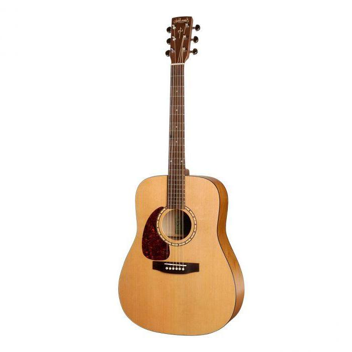 Simon and Patrick Woodland Series Acoustic with Solid Cedar Top and Red Wild Cherry Back and Sides, Semi-Gloss Natural Finish, Left Handed