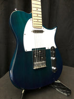 Riversong T2 Electric Guitar Trans Blue