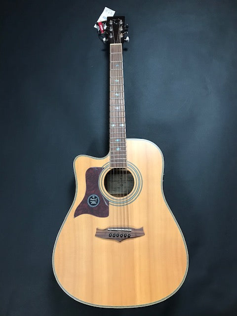 Tanglewood Premier TW 115ST-CE-LH Dreadnought Solid Spruce Top Electric Acoustic Guitar Left Handed