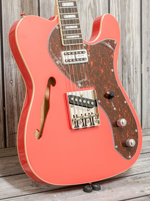 Revelation TSS - Poppy Red Thinline Electric Guitar