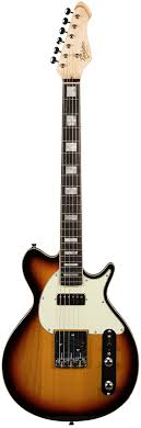revelation Guitars TTX 64 in Sunburst Electric Guitar
