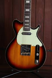 Revelation TTX-DLX Undercover Electric Guitar Sunburst