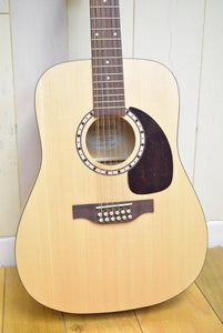 Simon & Patrick Woodland 12 Spruce QIT Natural Electric Acoustic 12 string Guitar