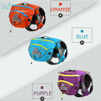 Dog Harness + Backpack