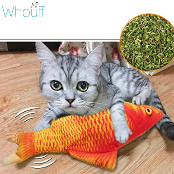 Dancing Fish Cat Toy
