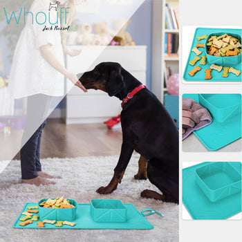 Travel Dog Silicone Bowl
