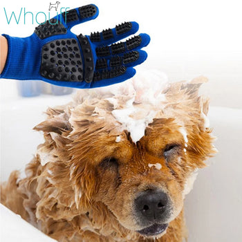 NEW Soft Rubber Grooming Glove